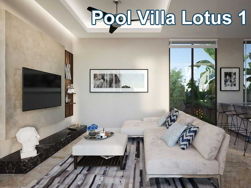 Pool Villa Lotus 1
