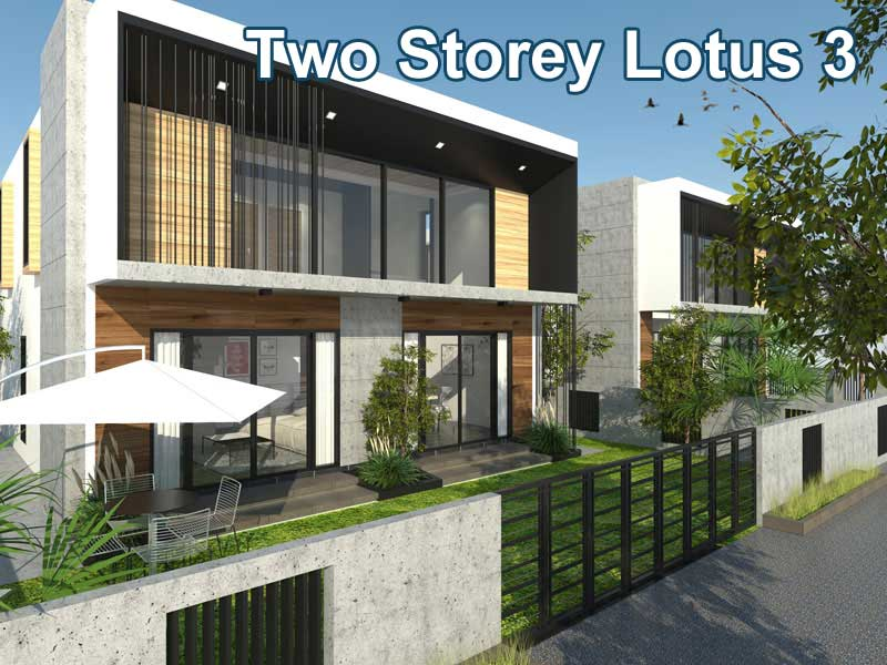 Two Storey Lotus 3