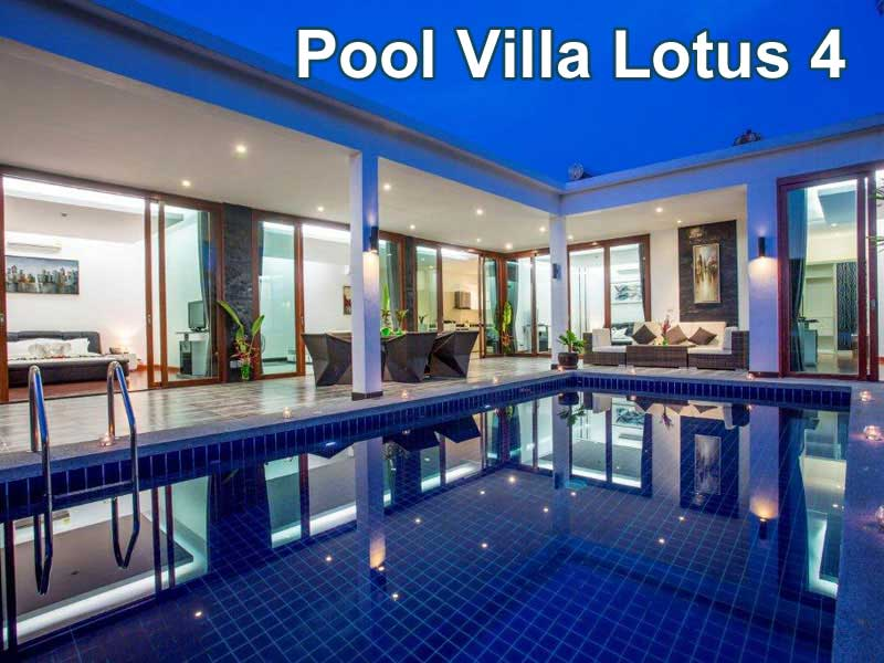 Pool Villa Lotus 4