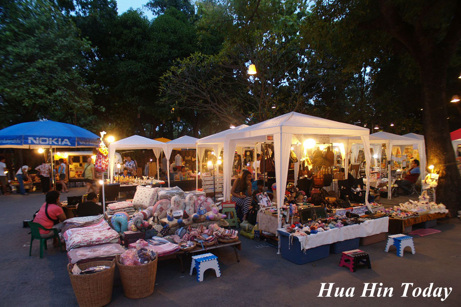 Hua Hin Cicada Market  Thailand