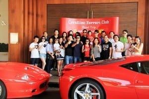 Ferrari Club in Hua Hin