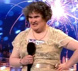 Susan Boyle brings her act to Japan