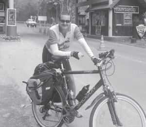 David´s Bicycle trip-Collecting for an Orphanage