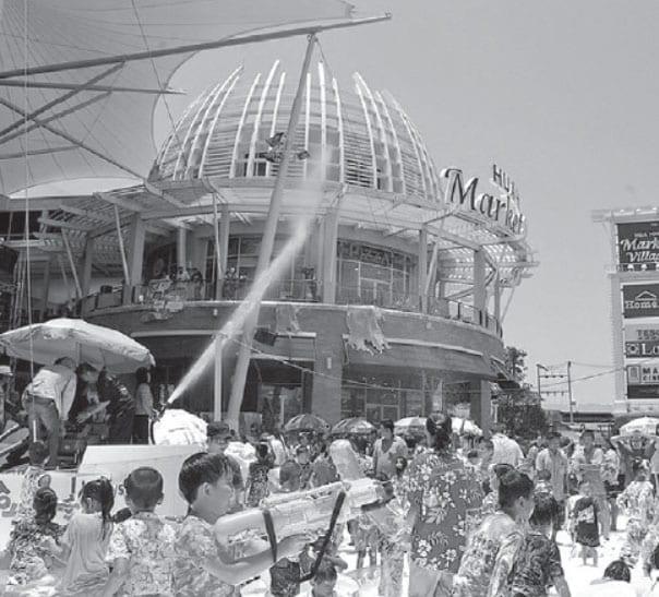 "Foam Party ""Sweet & Cool Songkran"" at Hua Hin Market Village"
