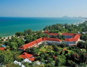 Centara Grand Beach Resort & Villas Hua Hin, a member of the Leading Hotels of the World.