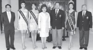 Congratulations to Miss Thailand 2012 at Grand Hyatt Erawan Bangkok