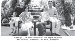 Celebrities visited the Dusit Thani Resort & Spa