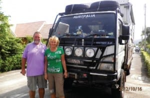 Around the World in a Mobile Home Hey Kids – this is quite a trip…read more now! Robert & Clary visited Hua Hin on their way to Alaska