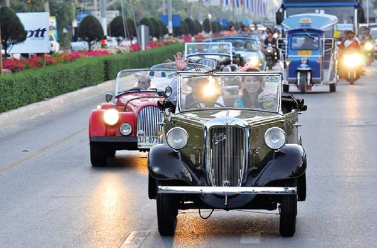 Hua Hin Vintage Car Parade to Start in December 2012