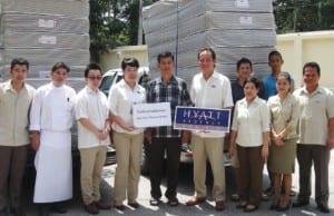 Hyatt Regency Hua Hin Gives Support to Community