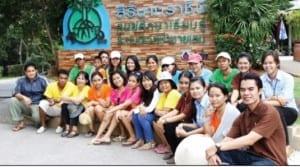 Putahracsa Hua Hin Team visited Sirinath Rajini Center