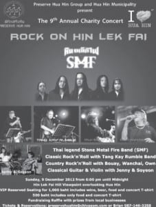 Rock Concert to Rock Hua Hin
