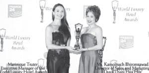 World Luxury Award for The Dusit Thani Hua Hin