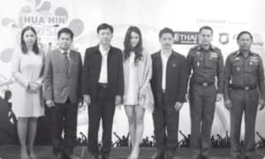 Hua Hin Music Coundown 2013
