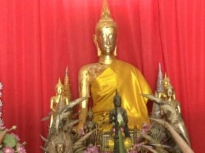 "Antique Museum at Buddhist Temple ""Dharma Sawang Khao Tao"""