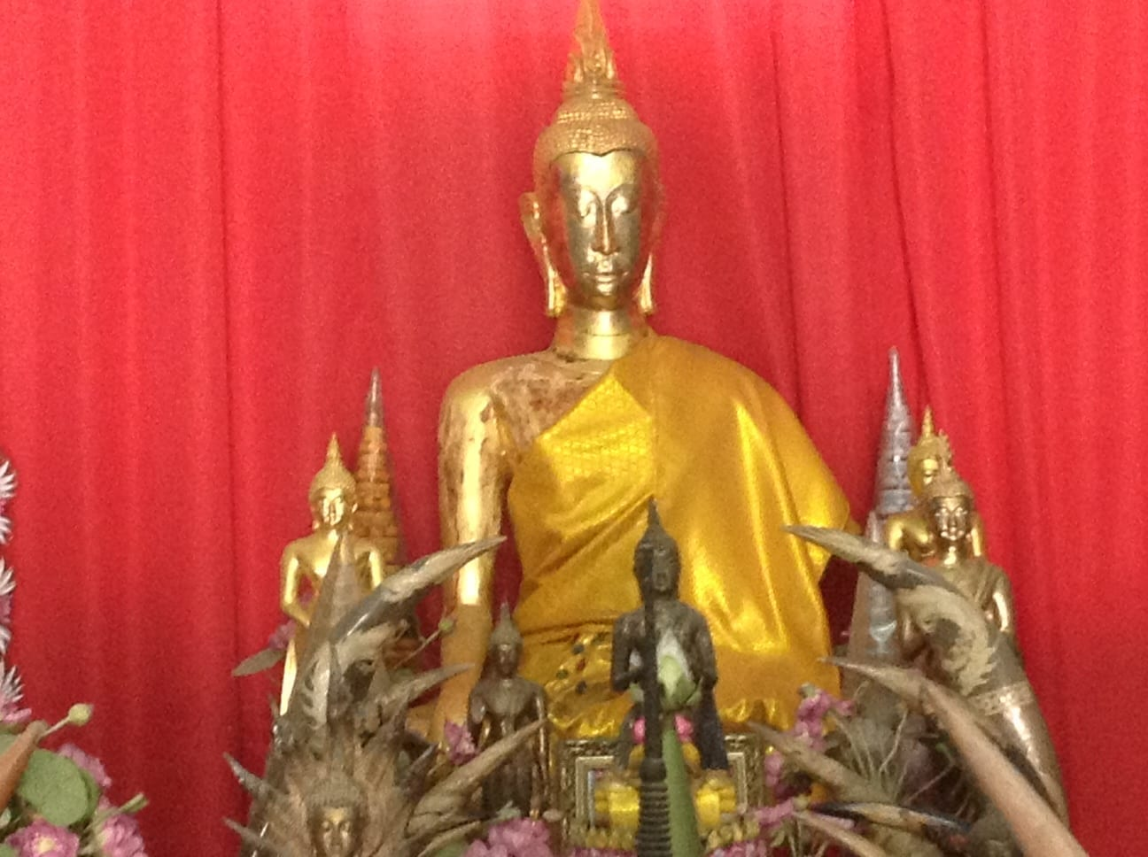 "Antique Museum at Buddhist Temple ""Dharma Sawang Khao Tao"""