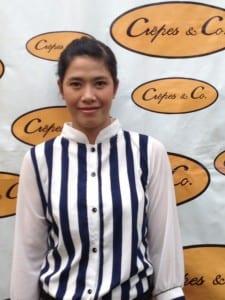 Khun Pin Manager Crepes  Co Hua Hin