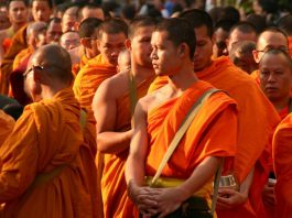 Becoming Buddhist Monk