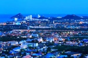 15320713-hua-hin-city-in-twilight-thailand