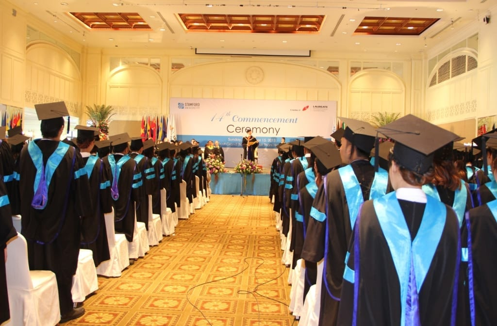 Stamford university 14th graduation ceremony for 14th and grand salon