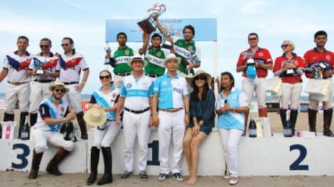 ASIAN BEACH POLO CHAMPIONSHIPS Raising Funds for the Kamlangai Project