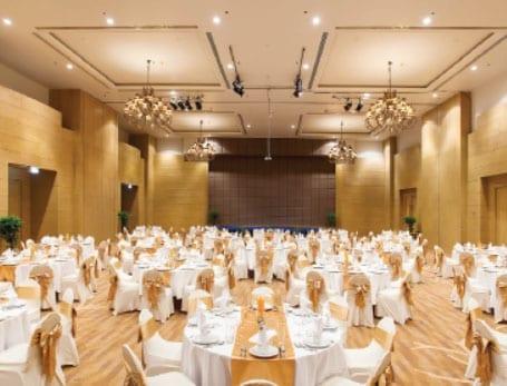 Designed To Impress The Refurbished Ballroom at The Hilton Hua Hin