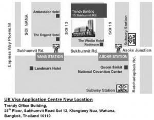 New UK Visa Application Centre in Bangkok