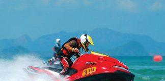 Thailand Jet Ski Championship Round at Cha Am beach
