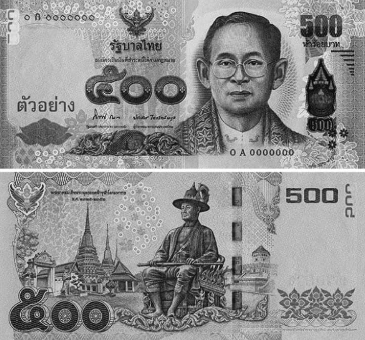 Thailand Launches New 500 Baht Bank Note