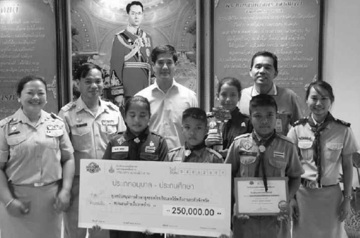 Khao Pitak School Hua Hin Wins Energy-Saving Award