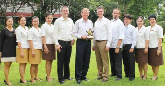 Centara Grand Beach Resort & Villas Hua Hin Receive Smoke Free Hotel Award