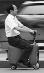 Chinese Inventor Builds a Scooter