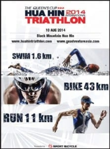 Swim, Bike & Run The Queen's Cup – Hua Hin International Triathlon 2014