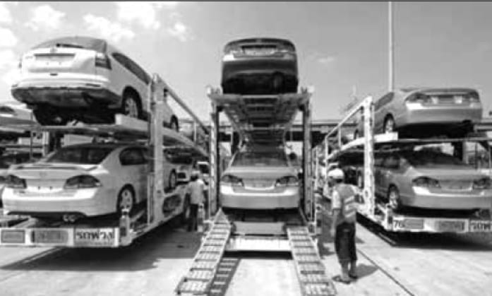 Thailand's Auto Exports May Set New Record