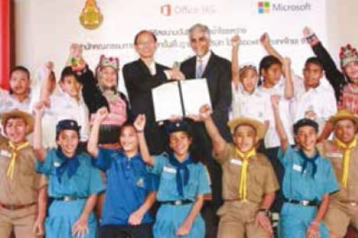 Thailand selects Office 365 for every student nationwide