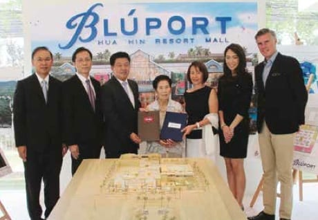 Bluport Goes Forward With A Construction Contract Signing Ceremony