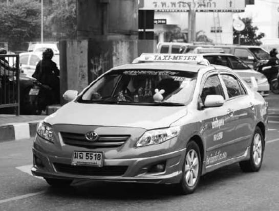 Clampdown on Bangkok Taxi Drivers