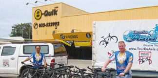 Guided Bicycle Tours in and around Hua Hin