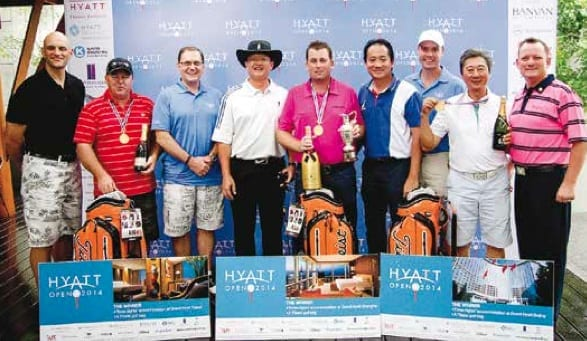 Hyatt Open Golf Tournament 2015