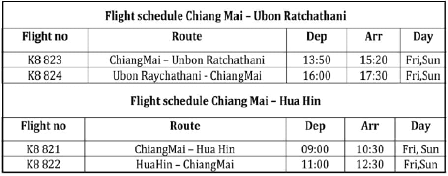 Kan Air Expands Network To Hua Hin
