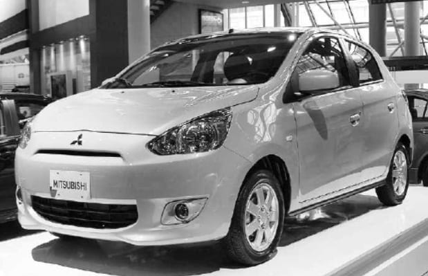 Mitsubishi Motors Introduces A New Mitsubishi Mirage