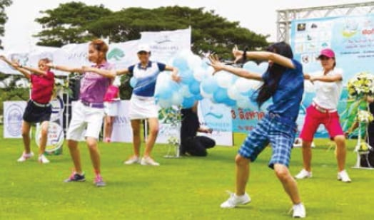 Springfield Turns It On To Open The 2014 Hua Hin & Cha-Am Golf Festival