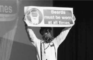 Battle of the beards at British Beard and Moustache Championships (England)
