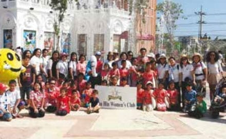 Hua Hin Women's Club Helping Kids