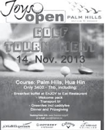 Joys Open Golf Tournament 2014
