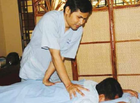 Thai Massage By The Blind