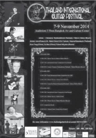Thailand International Guitar Festival Starring Jeremy Jouve
