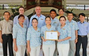 Centara Grand Beach Resort & Villas Hua Hin won Asia's Top Heritage Hotels