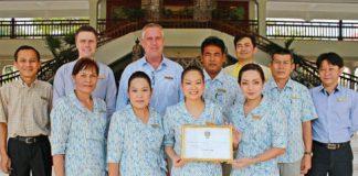 Centara Grand Beach Resort & Villas Hua Hin won Asia's Top Heritage Hotels