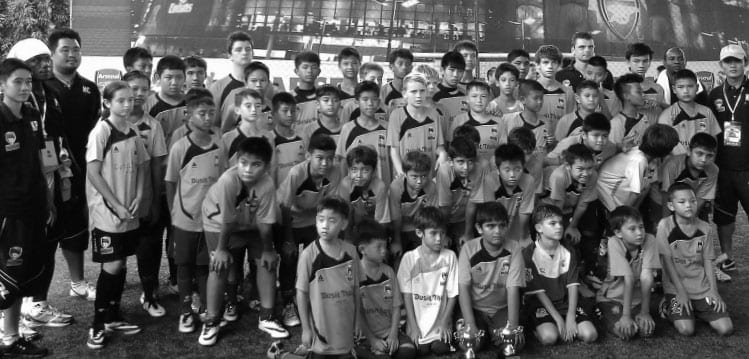 Dusit Thani Hua Hin Football Academy 'Gunners' for Glory In Bangkok